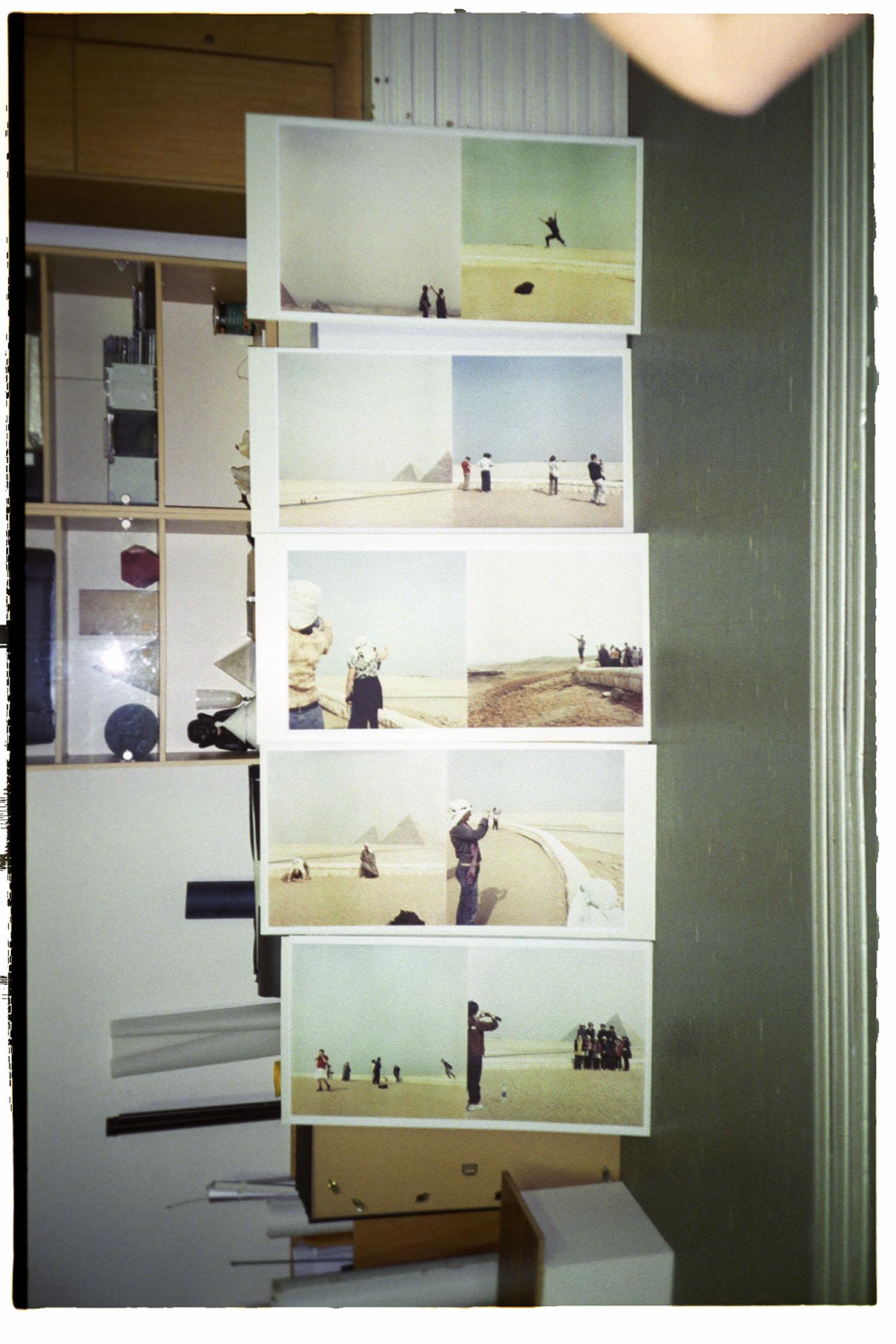 Giza View, 2009. Tisky 50x50cm nachystané na ořez